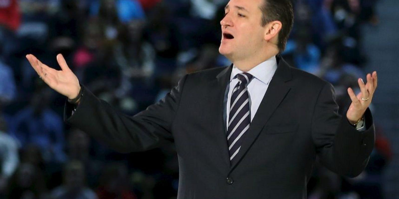 Es hijo de Rafel Cruz, cubano exiliado. Fue electo al senado en 2012 Foto:Getty Images