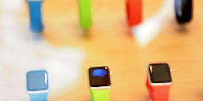 """En el caso de los compradores de la versión """"Sport"""", un 71% escogió el tamaño más grande disponible, es decir, el Apple Watch de 42 milímetros. Foto:Getty Images"""