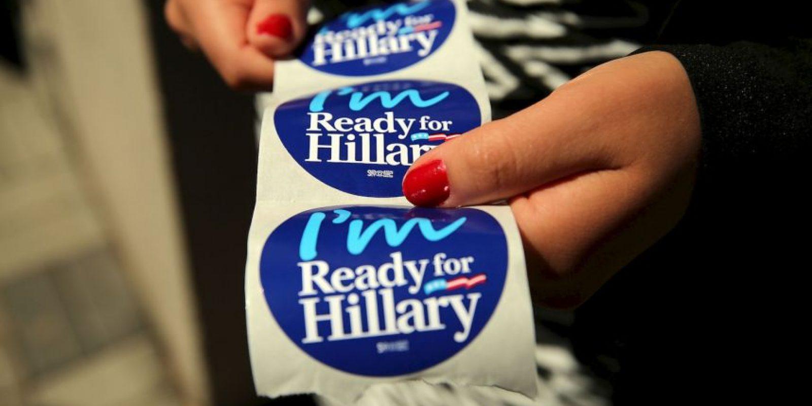 """La política se ha mostrado a favor del aborto. De acuerdo al portal estadounidense """"PBS"""", Clinton ha expresado que el aborto debe ser legal. """"Debería ser seguro, legal y poco frecuente"""", ha indicado. Foto:Getty"""