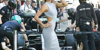 Fue la cara del Gran Premio de Australia de la F1 Foto:Vía instagram/elyseknowlzy