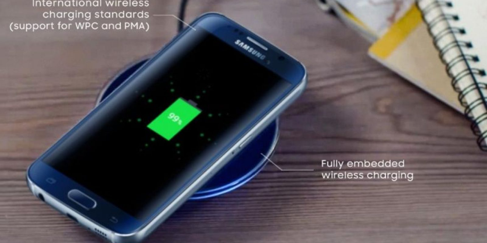 Su batería no se puede mover y es de 2.550 mAh. Foto:twitter.com/SamsungMobile