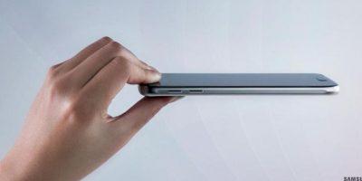 La pantalla y la parte posterior del dispositivo son de cristal. Foto:twitter.com/SamsungMobile