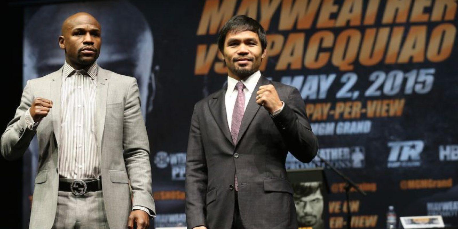 La pelea entre Floyd Mayweather y Manny Pacquiao del próximo 2 de mayo ya mueve grandes cantidades de dinero. Foto:Getty Images