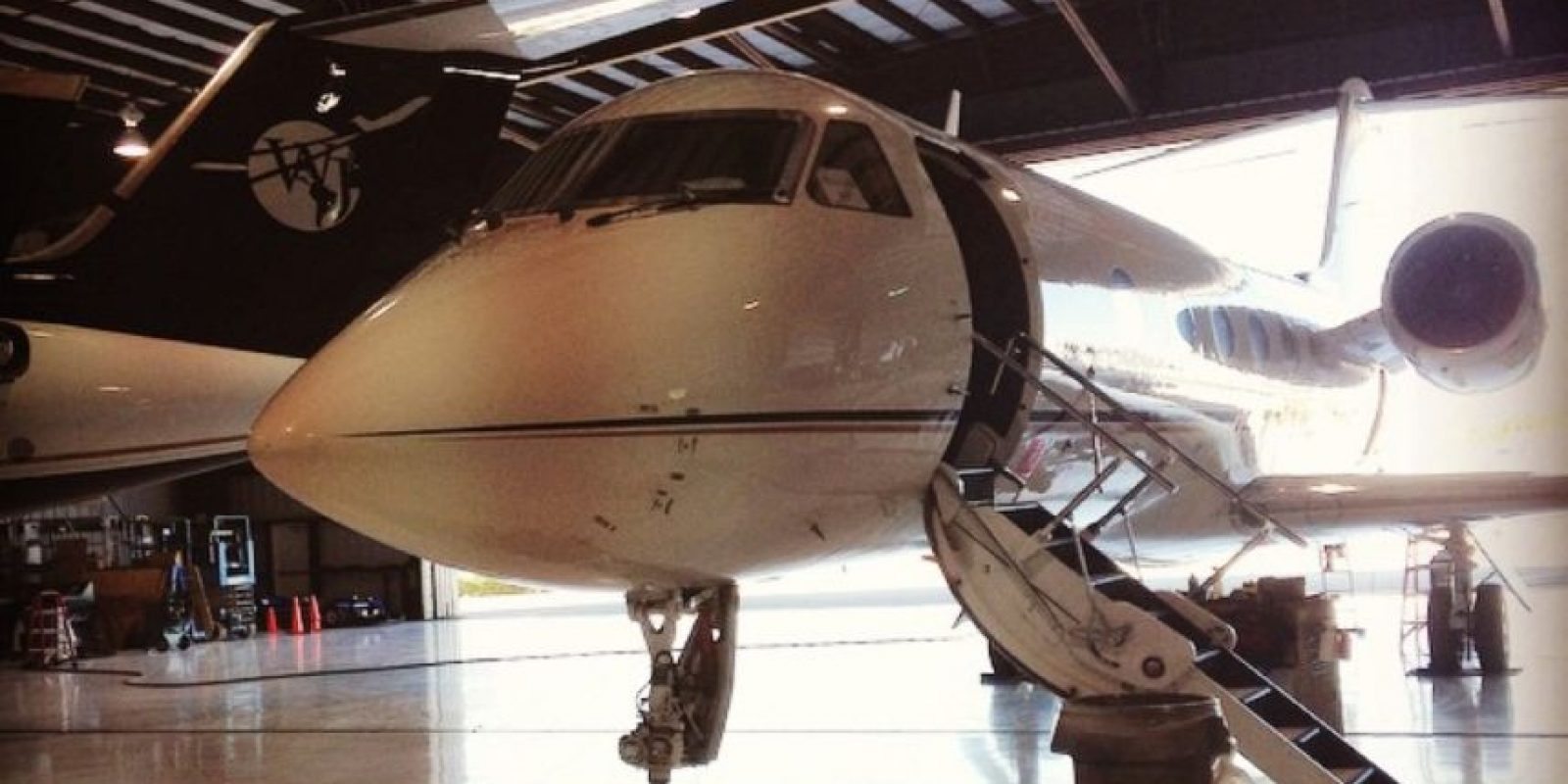 Así lucen las aeronaves en el aeropuerto Fort Launderdale Foto:Vía Instagram @aviate037