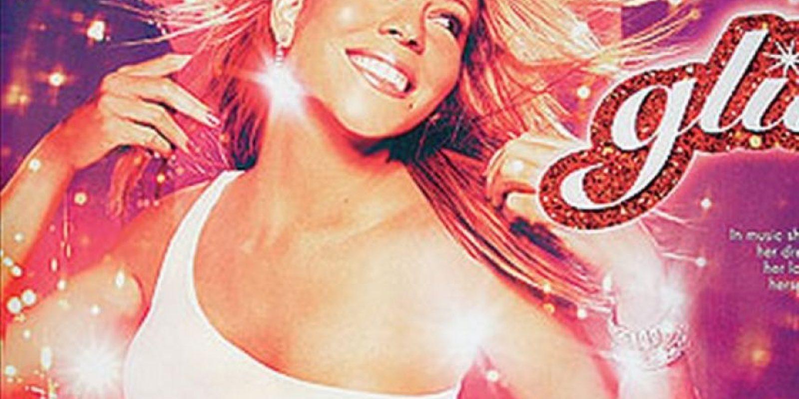 """2001. Álbum """"Glitter"""" Foto:Wikipedia"""