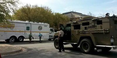 Las autoridades siguen en el lugar Foto:Vía Twitter @NewArgusCops