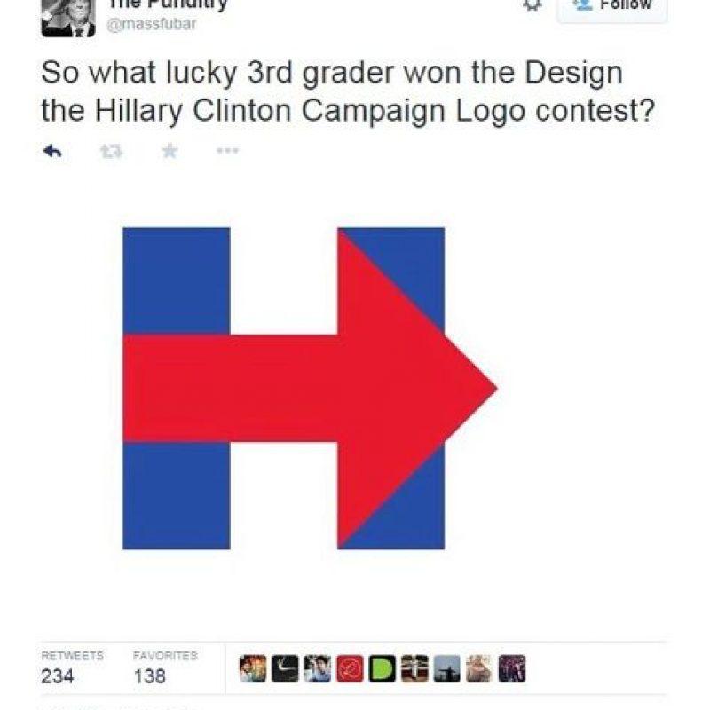 """""""¿Qué afortunado estudiante de tercer grado ganó el concurso para diseñar el logo?"""" Foto:Twitter.com/massfubar"""