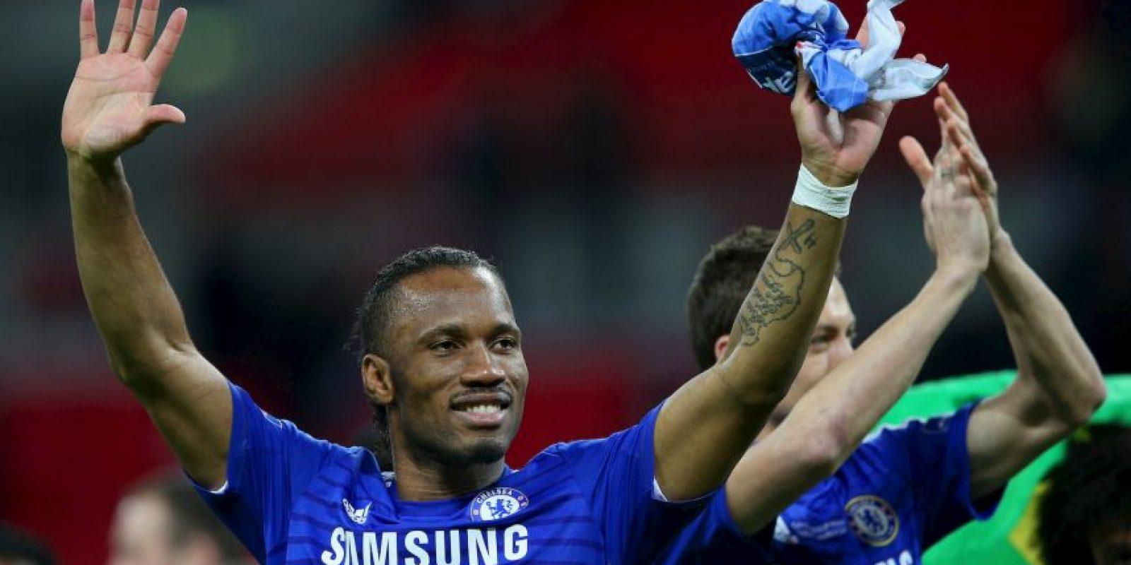 Con 37 años de edad, Didier Drogba anunció que la próxima temporada seguirá jugando fútbol como profesional. Foto:Getty Images