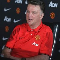 El entrenador holandés llegó a Old Trafford para la temporada 2014-2015. Foto:Getty Images