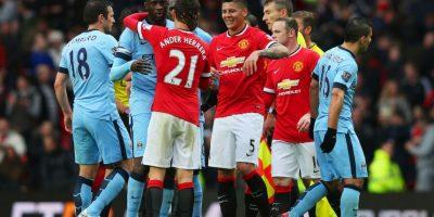 En su último partido, golearon al Manchester City 4-2 en el derbi de la ciudad. Foto:Getty Images