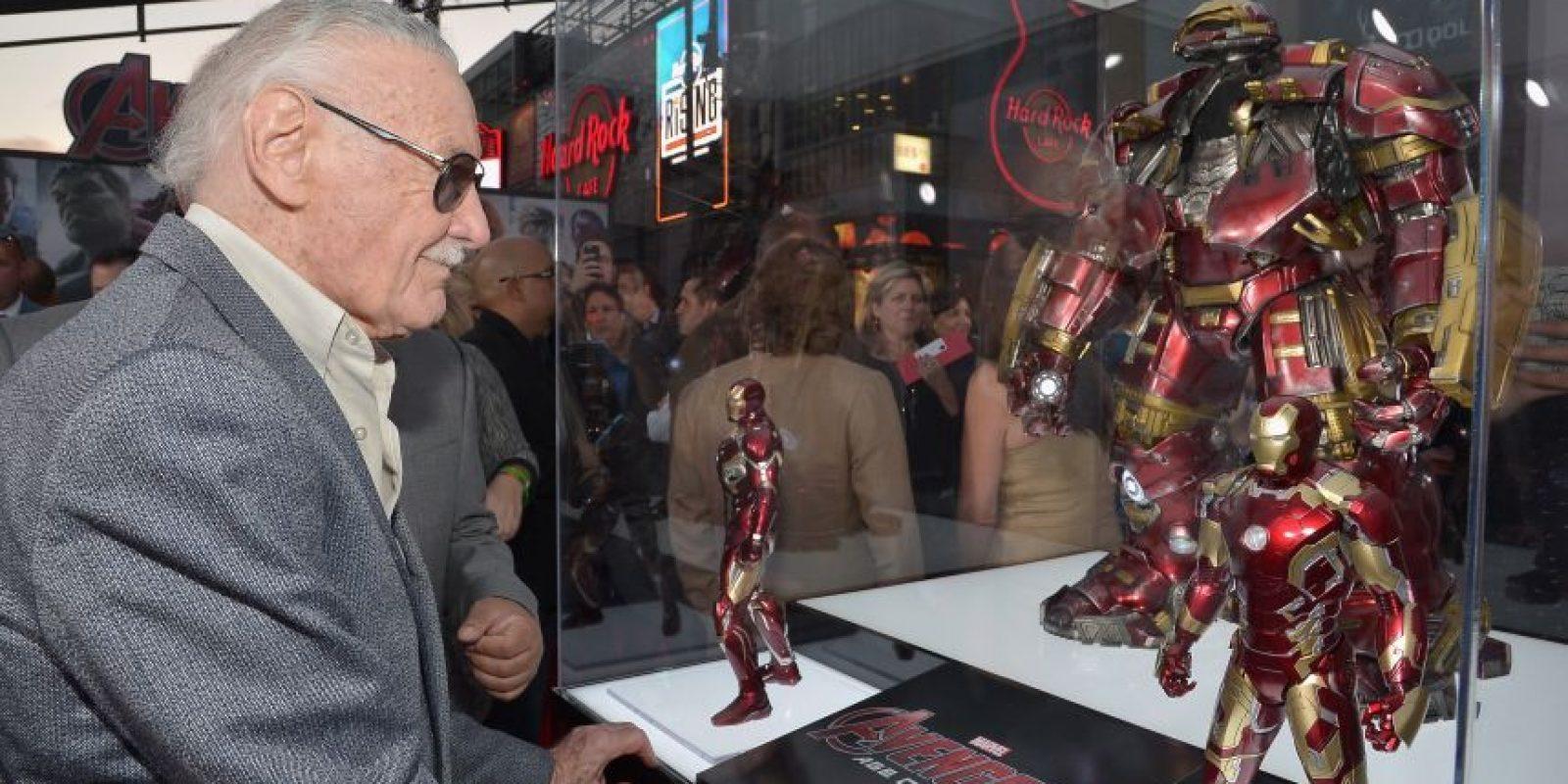 """El creador de la saga """"The Avengers"""", Stan Lee. Foto:Cortesía"""
