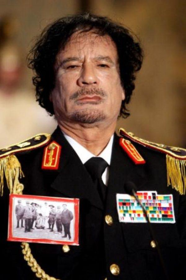 Muamar el Gadafi. Foto:Getty Images