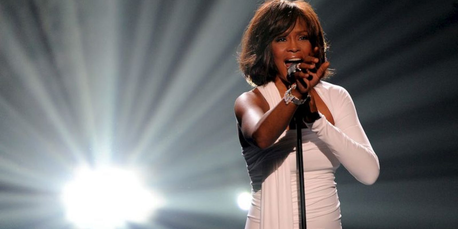 La cantante Whitney Houston. Foto:Getty Images