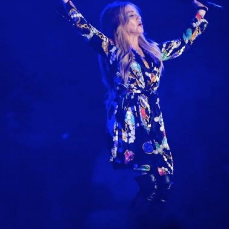 """En marzo, la """"Reina del pop"""" le confesó a la revista US Weekly, que busca algo más que un beso con el rapero. Foto:Getty Images"""