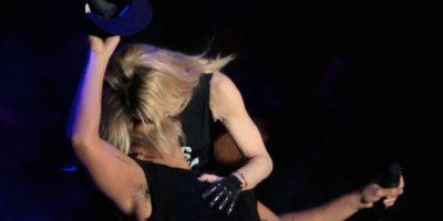 A pesar de su reacción de asco, el cantante admitió que lo disfrutó. Foto:Getty Images