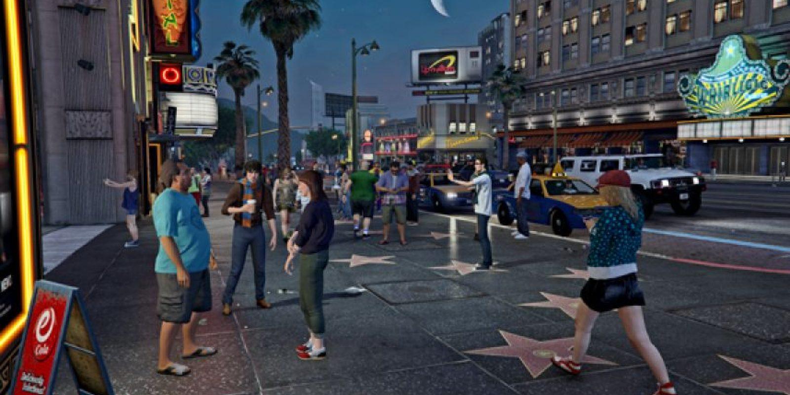 5) Se incluyó la visión en primera persona, tal como en PS4 y Xbox One. Foto:Rockstar Games