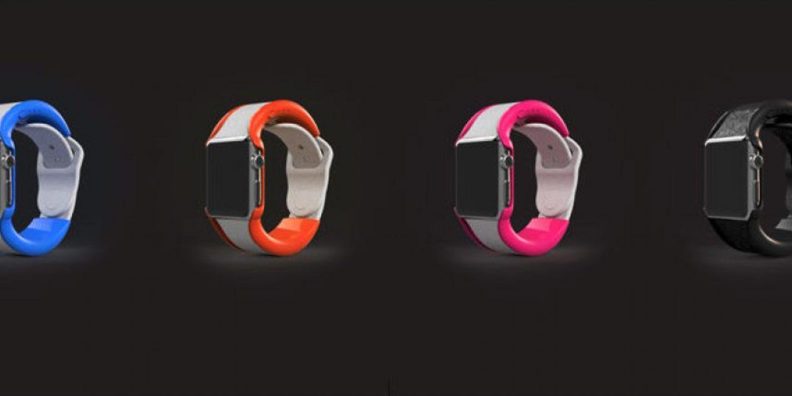 Estos son los colores disponibles. Foto:wiPowerBand, Inc.