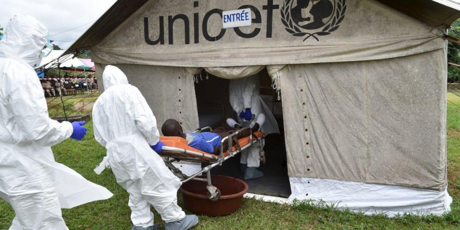 6. Esta semana Sierra Leona abrió sus escuelas luego de haber sido cerradas durante nueve meses por el Ébola. Foto:AFP