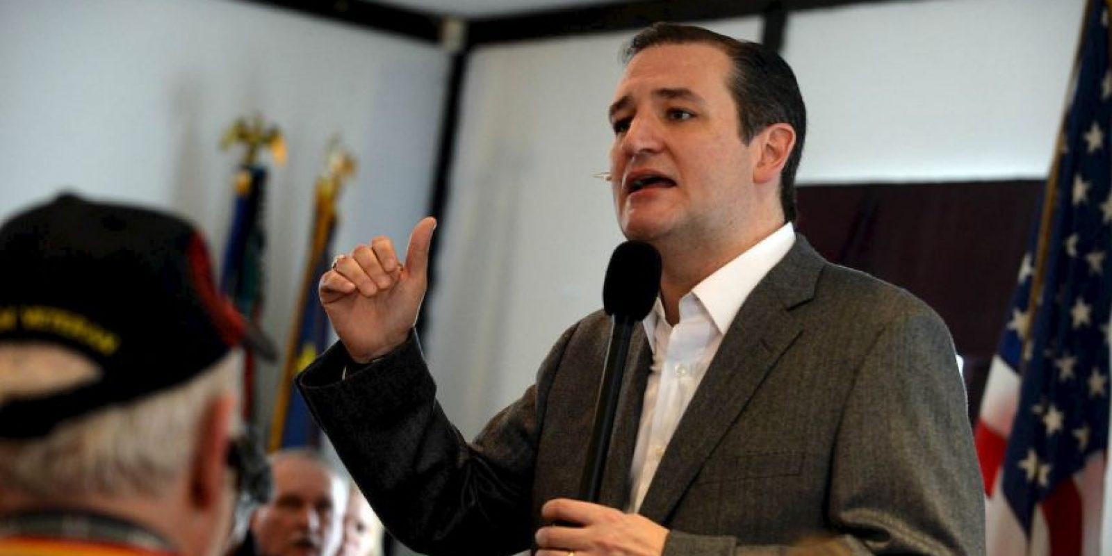 Está casado con Heidi Nelson Cruz. Foto:Getty Images