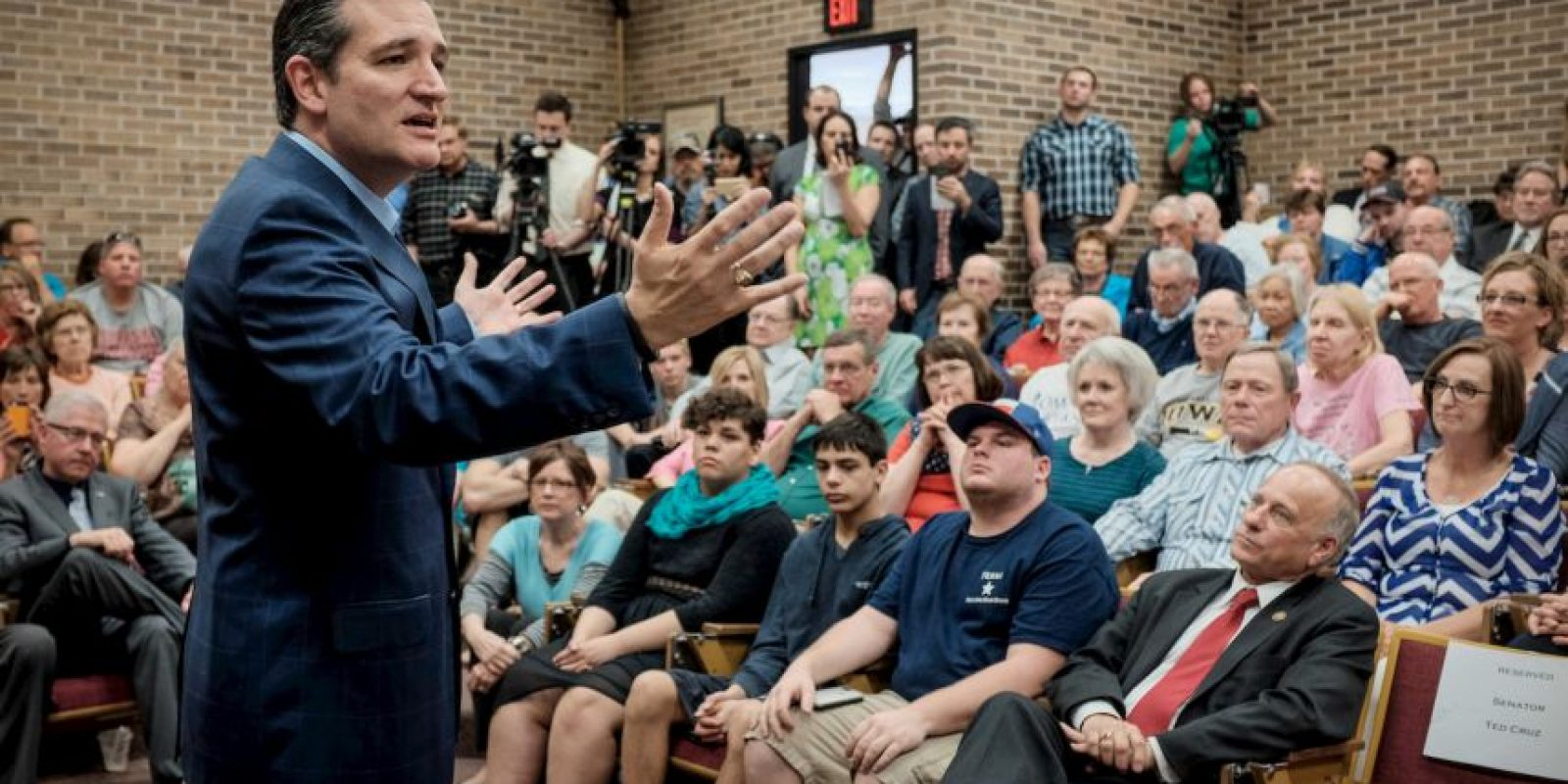 """De acuerdo al periódico peruano """"El Comercio"""", dio de qué hablar al ofrecer un discurso de 21 horas contra el Obamacare. Foto:Getty Images"""