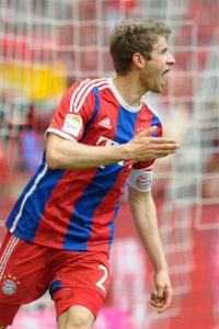 Sus figuras: Thomas Müller Foto: Getty Images