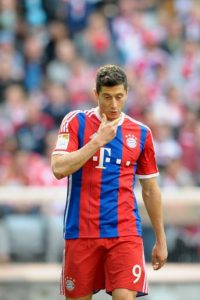 Sus figuras: Robert Lewandoski Foto: Getty Images