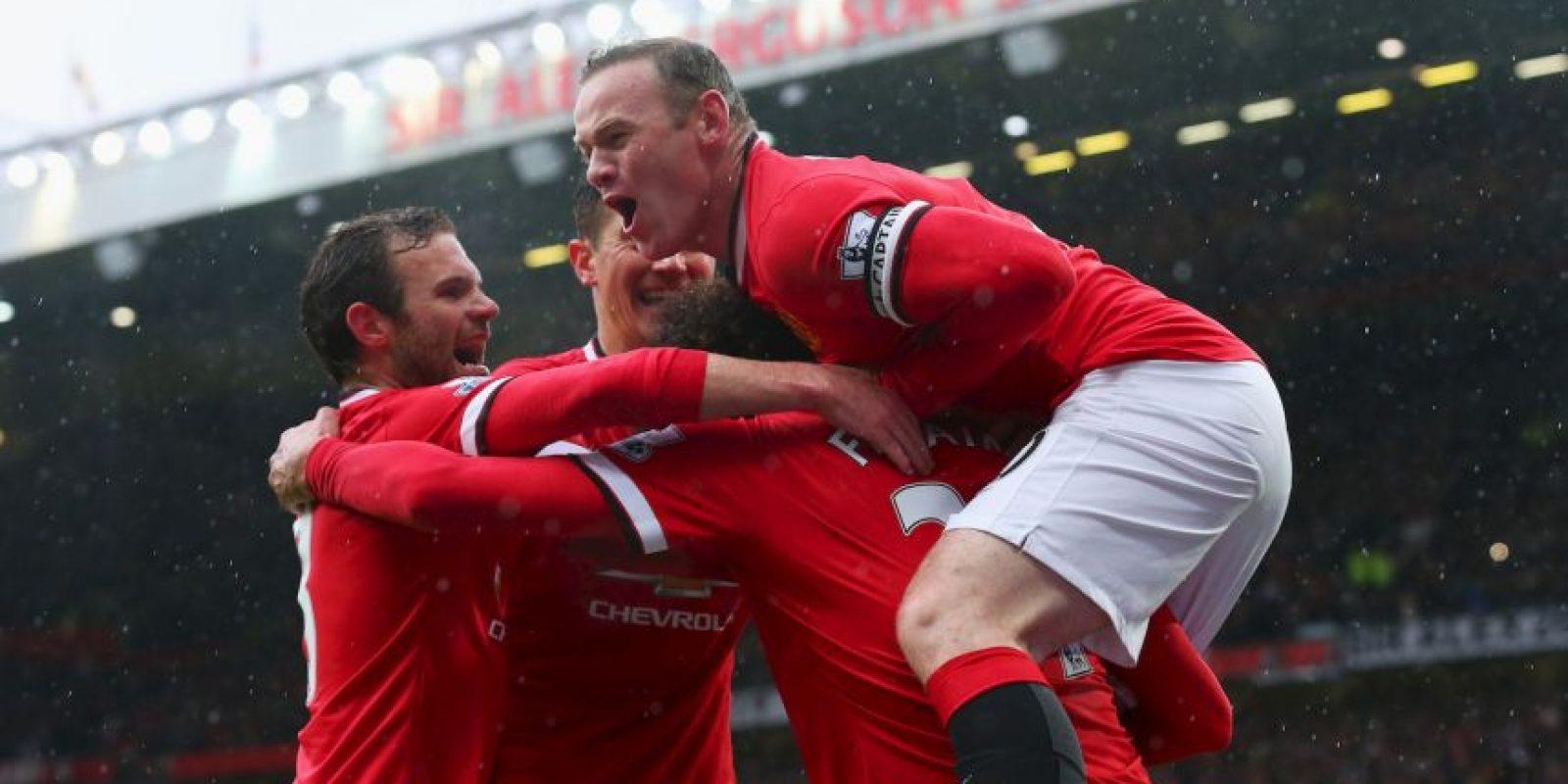Manchester United está de regreso en la pelea por los primeros lugares de la liga de Inglaterra. Foto:Getty Images