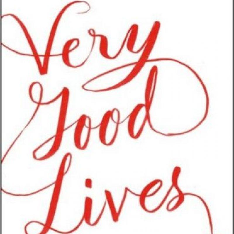 """Su nuevo libro lleva por título """"Vive muy bien"""" Foto:Twitter/jk_rowling"""