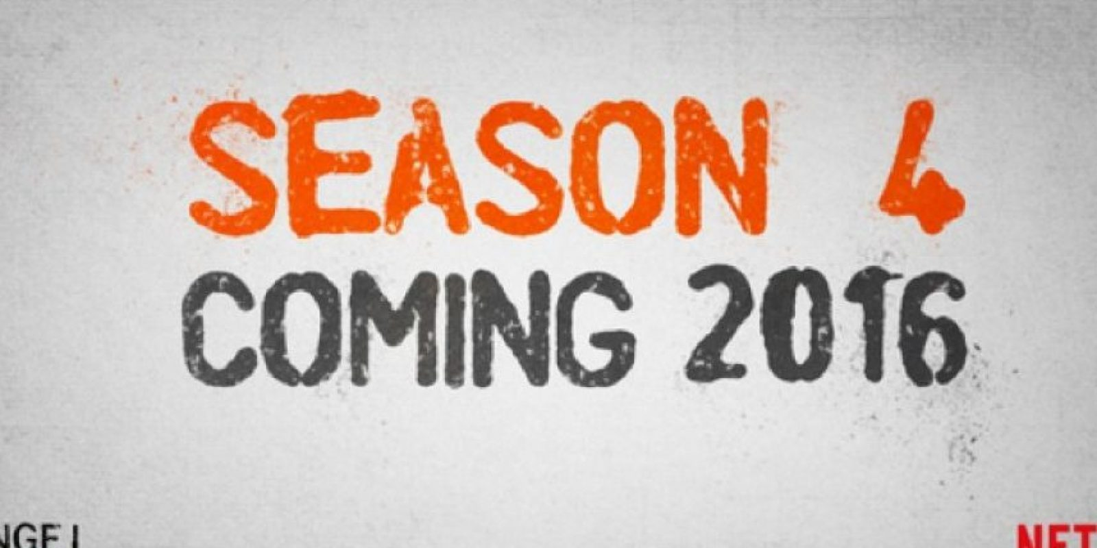 Así fue el anuncio de la cuarta temporada. Foto:twitter.com/OITNB