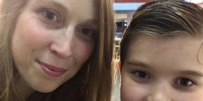 Él se llama Sammy Griner, su mamá es Laney. Su padre, Justin, necesita un riñón. Foto:vía Facebook/Laney Griner