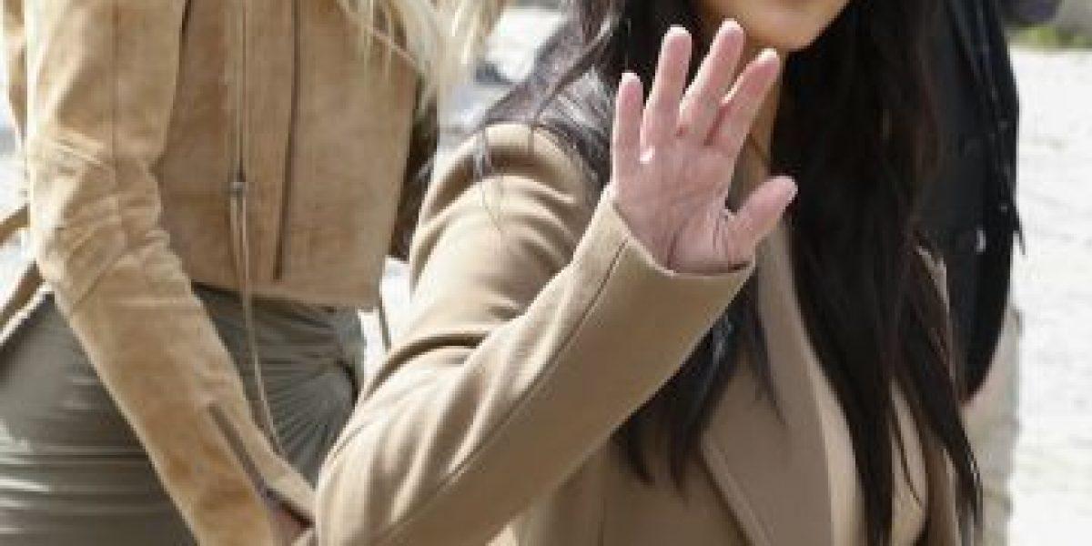 Kim Kardashian visita el sitio donde Jesús fue crucificado