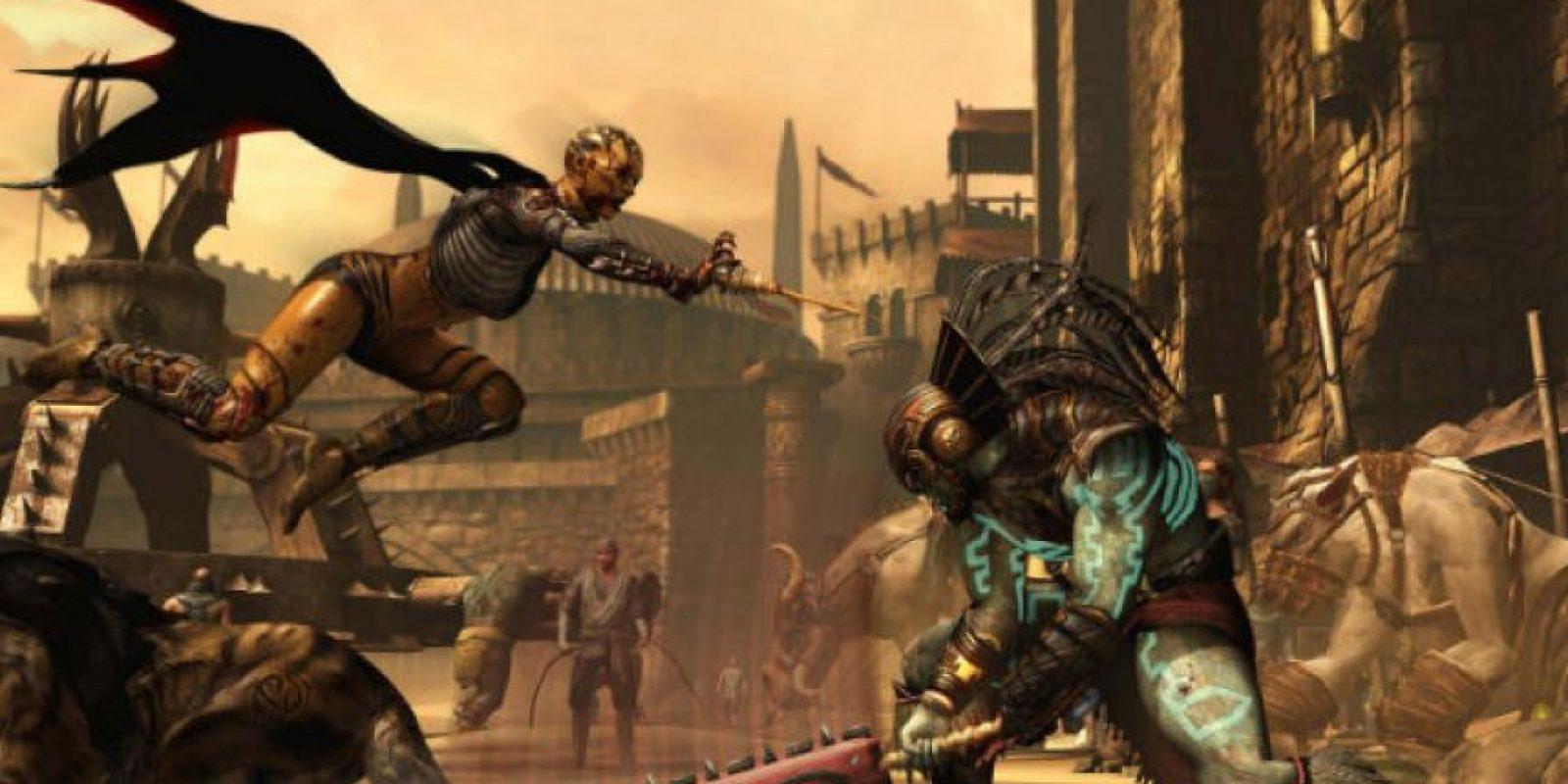 "Así se ve el videojuego ""Mortal Kombat X"" Foto:store.steampowered.com/app/307780/"