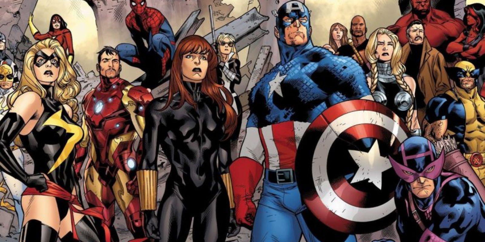 Henry Pym, Avispa, Wolverine, Pantera y Vision, entre muchos otros superhéroes, también han integrado el equipo de Los Vengadores. Foto:vía Marvel