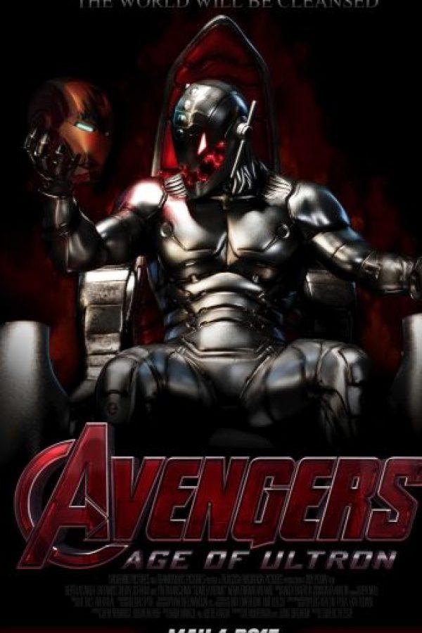 """En el cómic hay aproximadamente 16 versiones de Ultron, ya que se reconstruye por sí mismo o por obra de otros, como Tony Stark, que fue hipnotizado en una ocasión. Incluso ha sido destruido por """"Los 4 fantásticos"""". Foto:vía Marvel"""