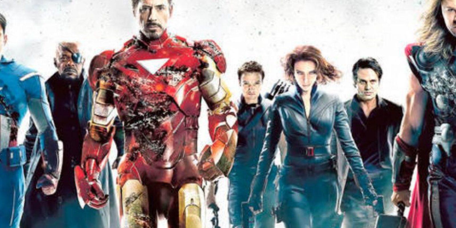 """El lema """"Vengadores Unidos"""" se usó desde el cómic número 10 y fue creado por Thor. Foto:vía Marvel"""