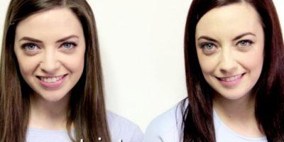 Al final las dos se maquillaron y vistieron igual. Foto:vía TwinStrangers