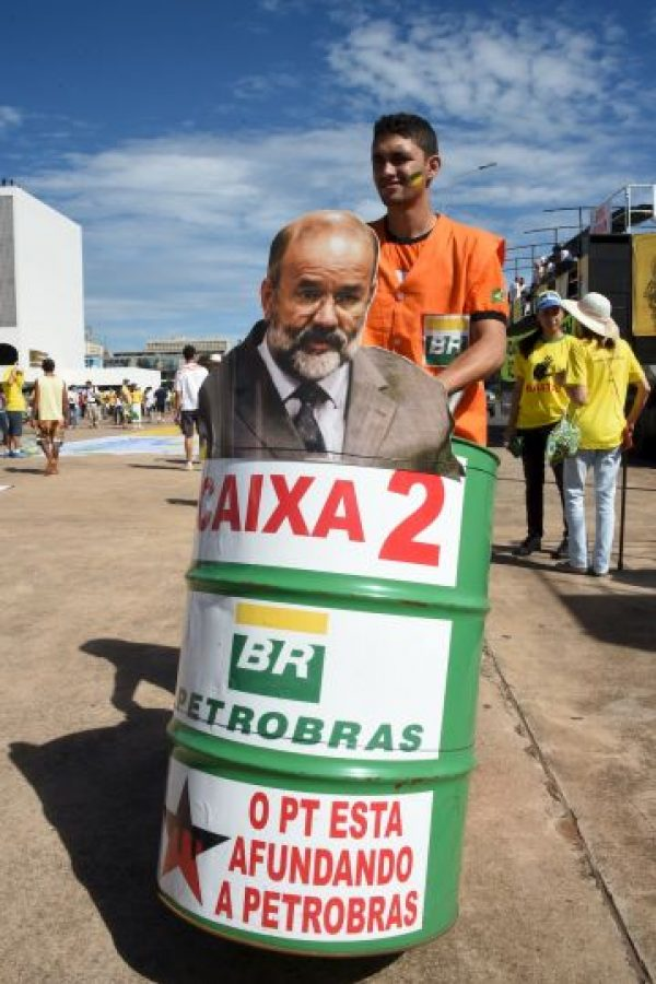 Joao Vaccari es la persona mas cercana a la presidenta Dilma Rousseff. Foto:Getty Images
