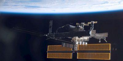 Así es la Estación Espacial Internacional, lugar desde donde se vio la nota recreada. Foto:Getty Images