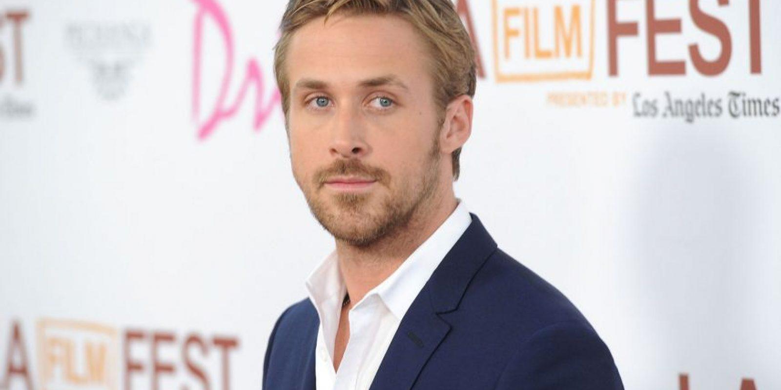Es hijo de Donna, una secretaria, y Thomas Gosling, un trabajador en una fábrica de papel Foto:Getty Images