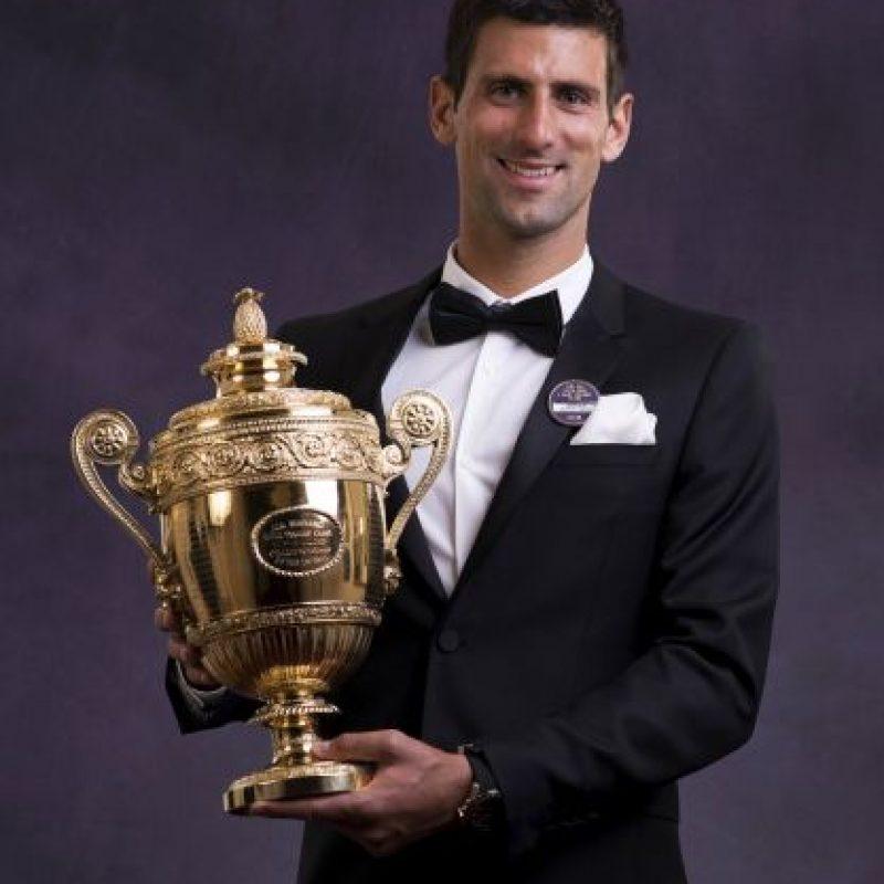 2014 fue un gran año para él. Ganó Wimbledon, sú único Grand Slam. Foto:Getty Images