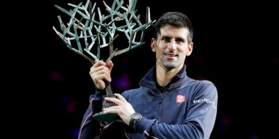 Pero se coronó en el ATP Masters de Londres. Foto:Getty Images