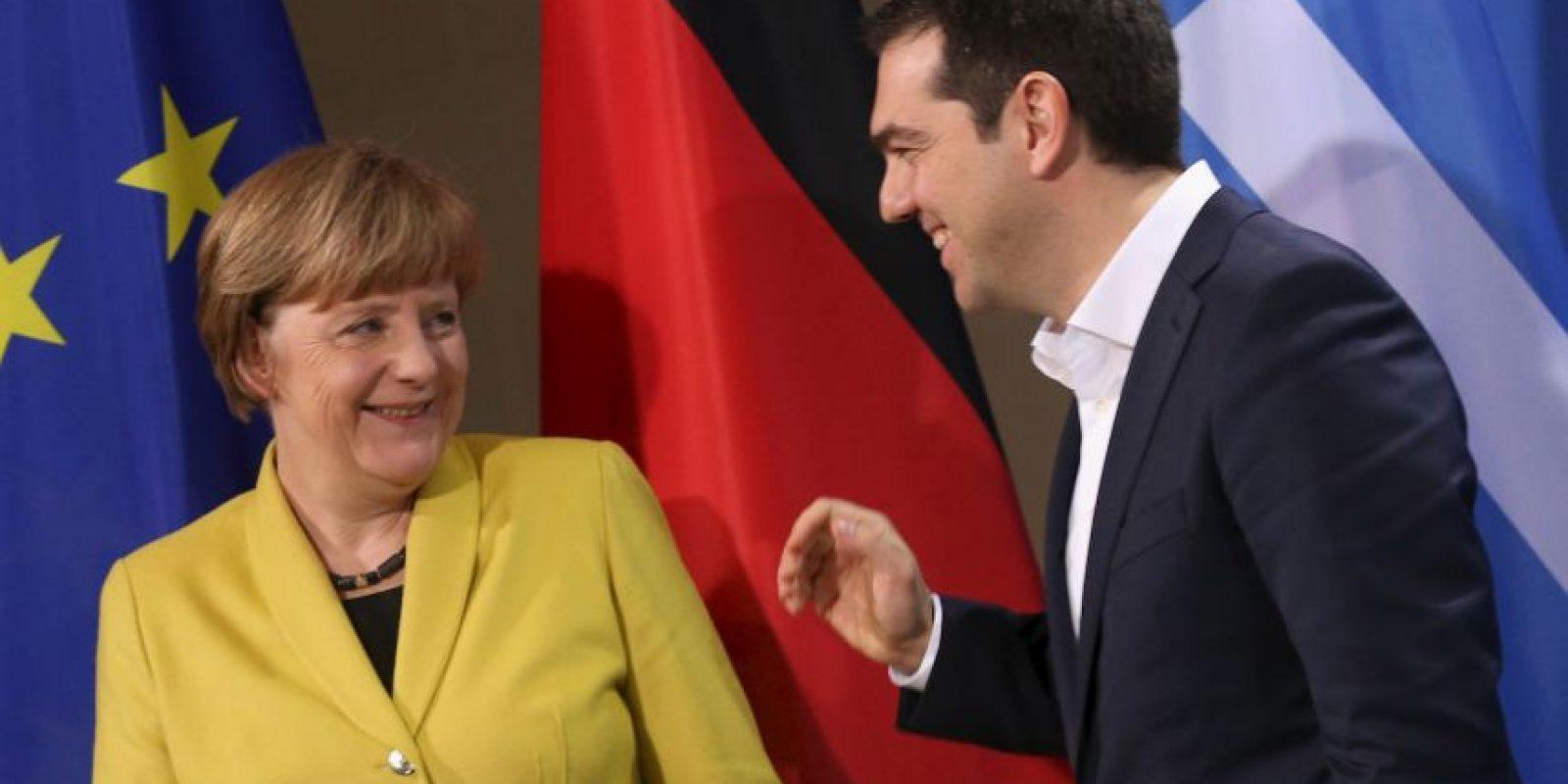 """""""En el cierre de su campaña en Atenas, me dijo: 'Debemos conocernos ahora, pero si no te importa, vamos a hacerlo en mi casa porque me gustaría pasar tiempo con mis hijos. Y eso es Alexis Tsipras, es un hombre de familia que puede hablar de política"""" Foto:Getty Images"""
