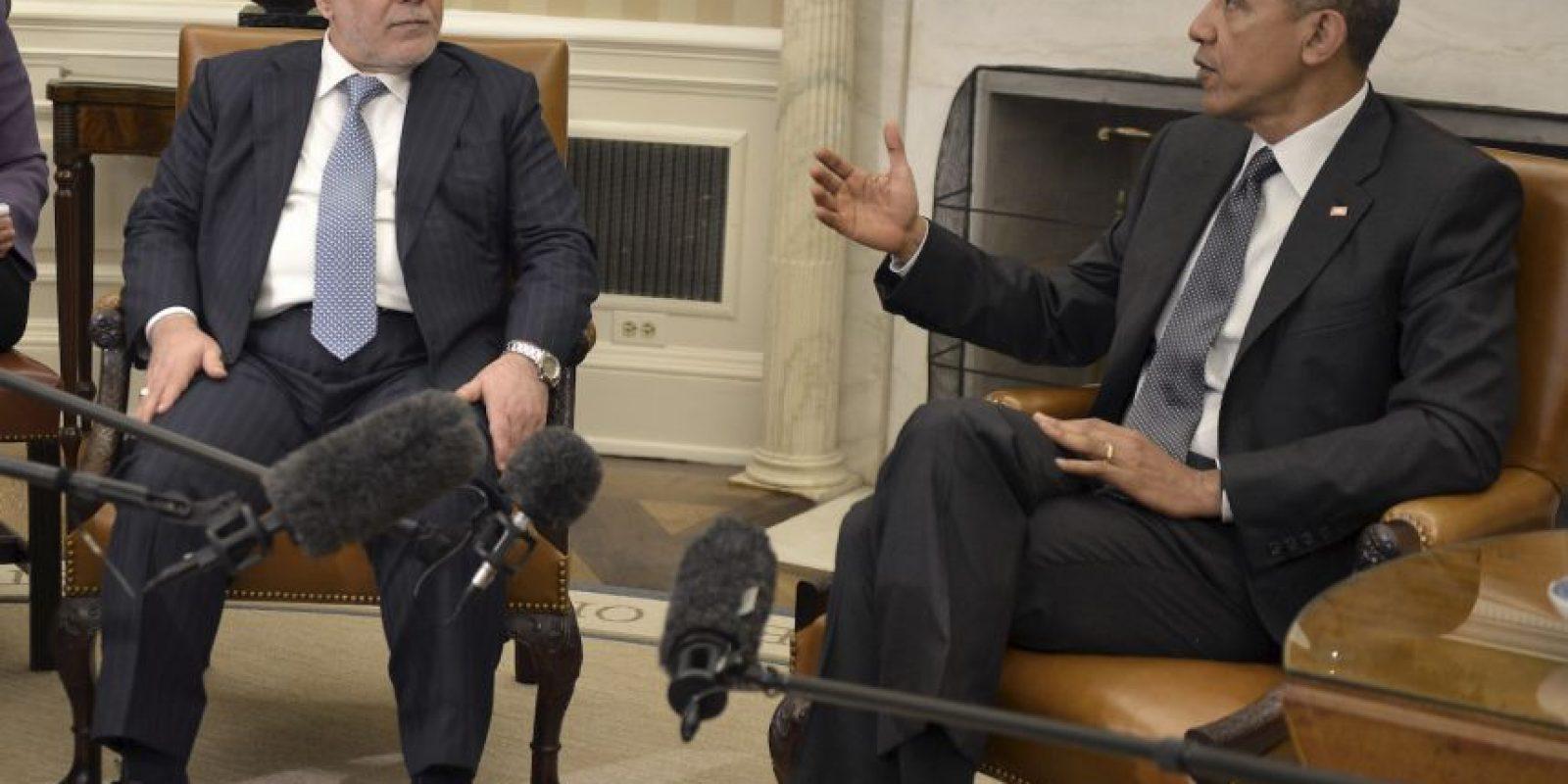 Haider al-Abadi, primer ministro de Irak Foto:Getty Images