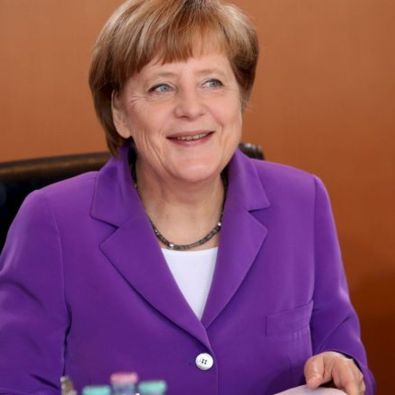 """""""Angela Merkel logró aprovechar el poder económico alemán para dirigir un esfuerzo de seguridad importante en el mundo"""". Foto:Getty Images"""