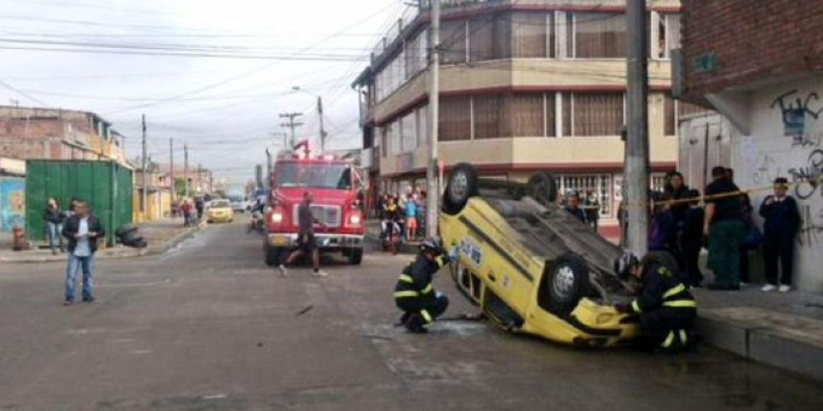 Foto:Twitter Bomberos Bogotá