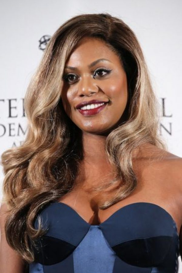 """En la serie interpreta a """"Sophia Burset"""", un transexual que abandona a su esposa e hijo para convertirse en mujer. Foto:Getty Images"""