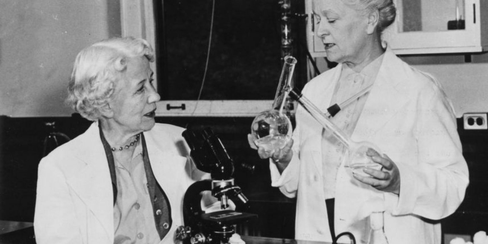 Elizabeth Lee Hazen y Rachel Fuller Brown. El primer primer antibiótico antifúngico útil fue descubierto por las científicas estadounidenses. Este antifúngico se le conoce comercialmente como Mycostatin, además de otros nombres y se usa en el tratamiento de infecciones cutáneas. Foto:Wikicommons