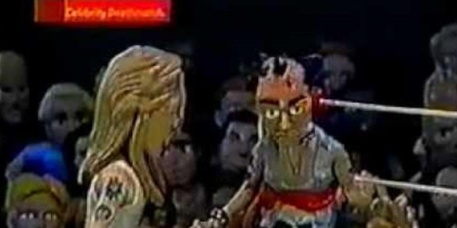 Axl Rose también peleó contra Slash. Lo deja calvo. Foto:vía MTV