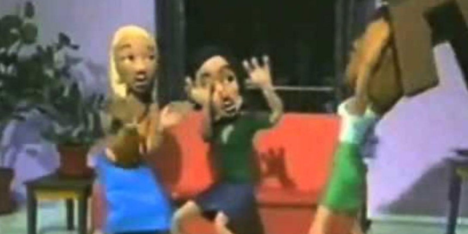 Las tres mujeres se mataban en el set. Foto:vía MTV
