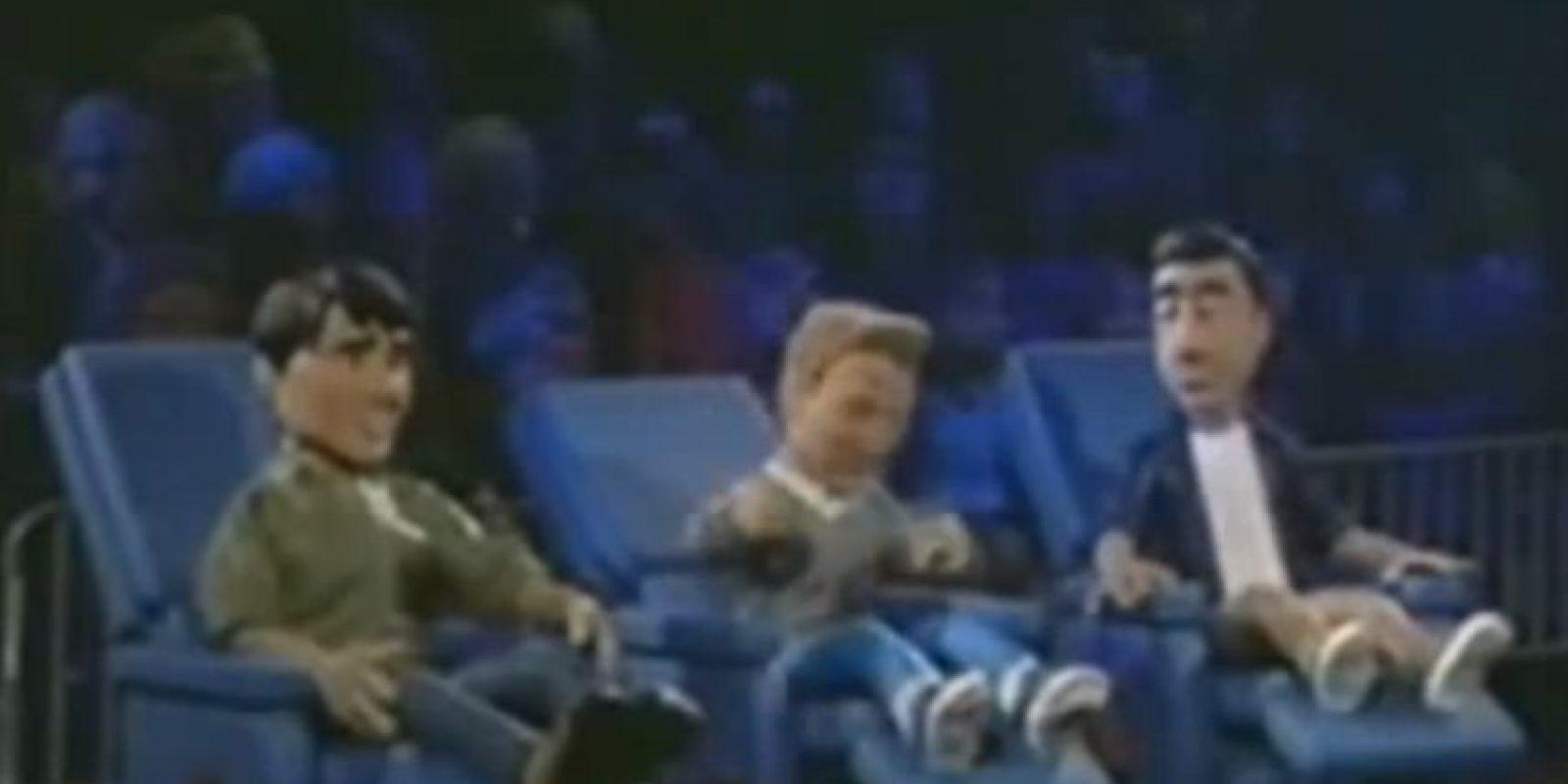 Los hombres veían. Foto:vía MTV